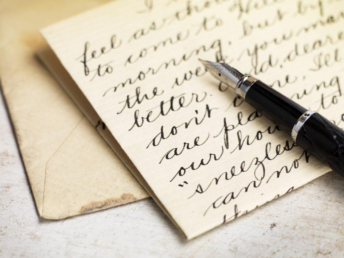comment bien  u00e9crire une lettre